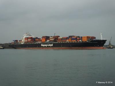 HOUSTON EXPRESS Departing Southampton PDM 19-07-2014 19-37-40