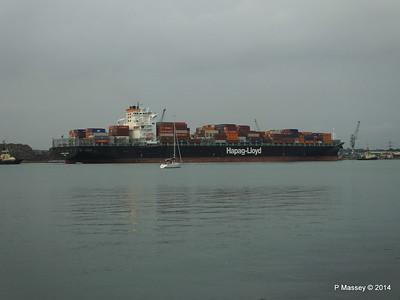 HOUSTON EXPRESS Departing Southampton PDM 19-07-2014 19-42-44