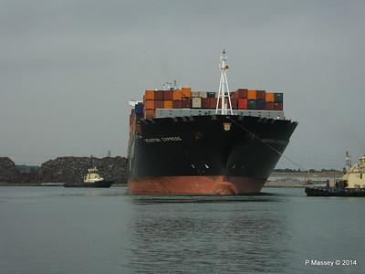 HOUSTON EXPRESS Departing Southampton PDM 19-07-2014 19-34-39