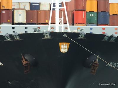 HOUSTON EXPRESS Departing Southampton PDM 19-07-2014 19-34-45