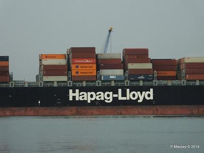 HOUSTON EXPRESS Departing Southampton PDM 19-07-2014 19-40-07