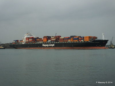 HOUSTON EXPRESS Departing Southampton PDM 19-07-2014 19-37-43