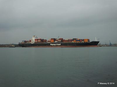 HOUSTON EXPRESS Departing Southampton PDM 19-07-2014 19-38-44