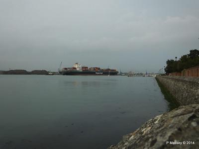 HOUSTON EXPRESS Departing Southampton PDM 19-07-2014 19-44-14