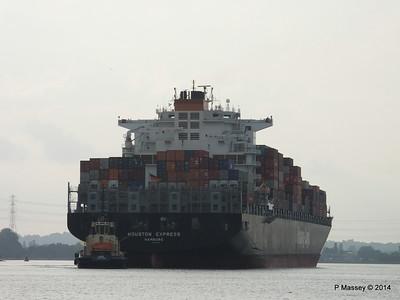 HOUSTON EXPRESS Departing Southampton PDM 19-07-2014 19-22-21