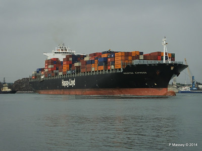 HOUSTON EXPRESS Departing Southampton PDM 19-07-2014 19-35-57