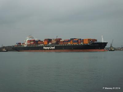 HOUSTON EXPRESS Departing Southampton PDM 19-07-2014 19-37-37
