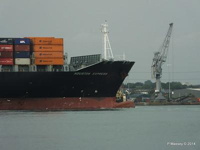 HOUSTON EXPRESS Departing Southampton PDM 19-07-2014 19-40-16