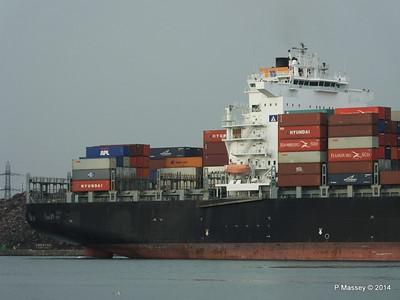 HOUSTON EXPRESS Departing Southampton PDM 19-07-2014 19-38-24