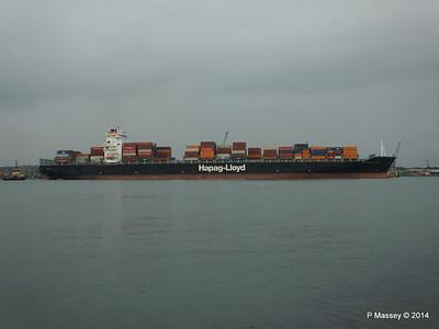 HOUSTON EXPRESS Departing Southampton PDM 19-07-2014 19-39-38
