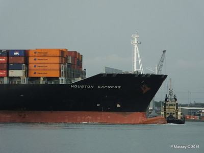 HOUSTON EXPRESS Departing Southampton PDM 19-07-2014 19-38-34