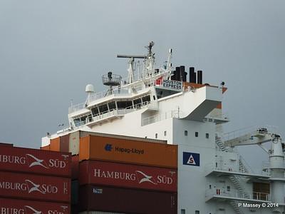HOUSTON EXPRESS Departing Southampton PDM 19-07-2014 19-29-38
