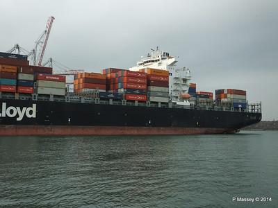 HOUSTON EXPRESS Departing Southampton PDM 19-07-2014 19-29-55