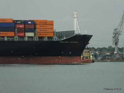 HOUSTON EXPRESS Departing Southampton PDM 19-07-2014 19-40-32