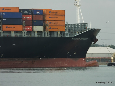 HOUSTON EXPRESS Departing Southampton PDM 19-07-2014 19-41-28