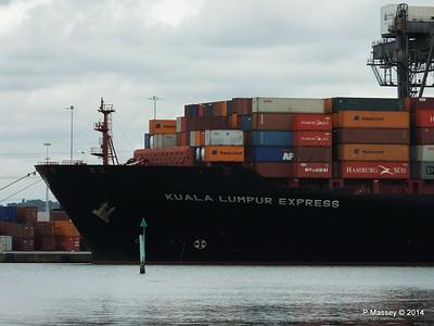 KUALA LUMPUR EXPRESS Southampton PDM 16-07-2014 16-02-057