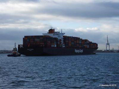 30 Jan 2015 OSAKA EXPRESS Inbound Southampton