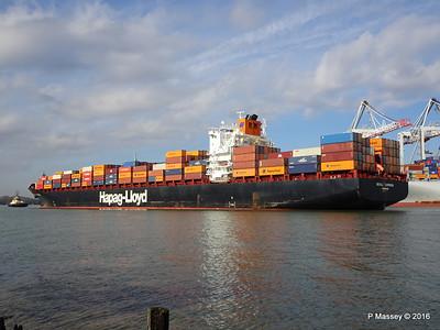 SEOUL EXPRESS Arriving Southampton PDM 24-02-2016 11-29-12