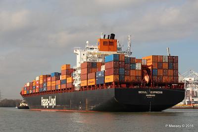 SEOUL EXPRESS Arriving Southampton PDM 24-02-2016 11-29-48