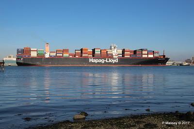 ULSAN EXPRESS Outbound Southampton PDM 18-02-2017 14-46-48