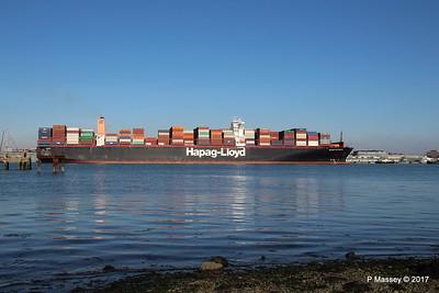 ULSAN EXPRESS Outbound Southampton PDM 18-02-2017 14-46-29