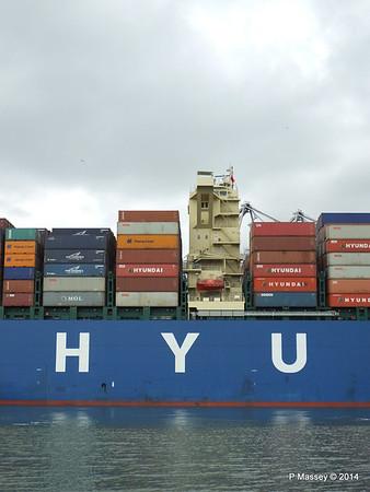 HYUNDAI TOGETHER Departing Southampton PDM 02-06-2014 16-08-10