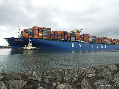HYUNDAI TOGETHER Departing Southampton PDM 02-06-2014 16-10-02