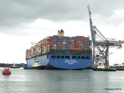HYUNDAI TOGETHER Departing Southampton PDM 02-06-2014 16-01-45