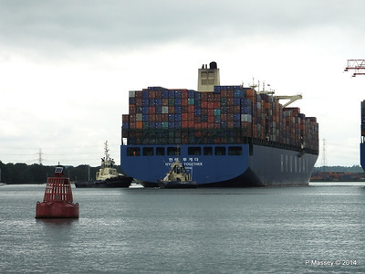 HYUNDAI TOGETHER Departing Southampton PDM 02-06-2014 15-57-41