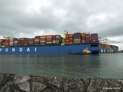 HYUNDAI TOGETHER Departing Southampton PDM 02-06-2014 16-05-51