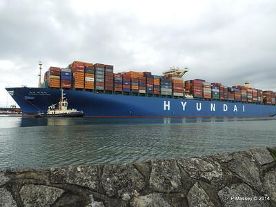 HYUNDAI TOGETHER Departing Southampton PDM 02-06-2014 16-09-58