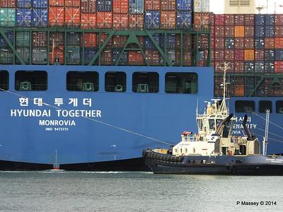 HYUNDAI TOGETHER SVITZER FERRIBY Southampton PDM 02-06-2014 16-01-07