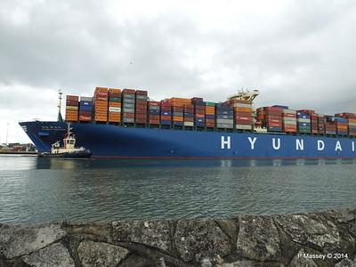 HYUNDAI TOGETHER Departing Southampton PDM 02-06-2014 16-09-35