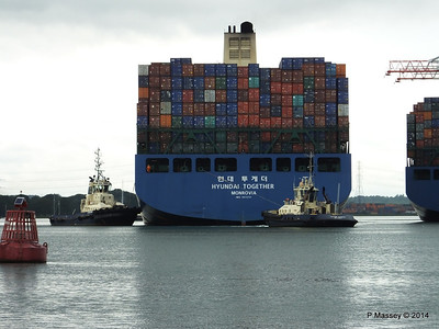 HYUNDAI TOGETHER Departing Southampton PDM 02-06-2014 15-59-55