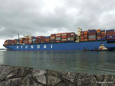 HYUNDAI TOGETHER Departing Southampton PDM 02-06-2014 16-05-56