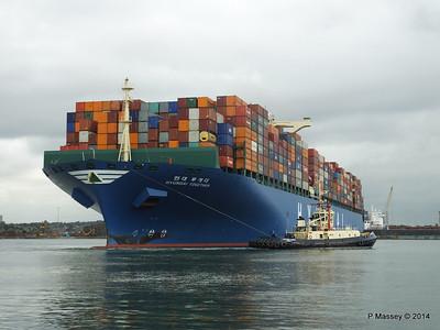 HYUNDAI TOGETHER Departing Southampton PDM 02-06-2014 16-12-33