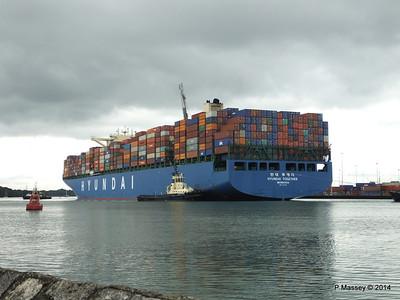 HYUNDAI TOGETHER Departing Southampton PDM 02-06-2014 16-03-30
