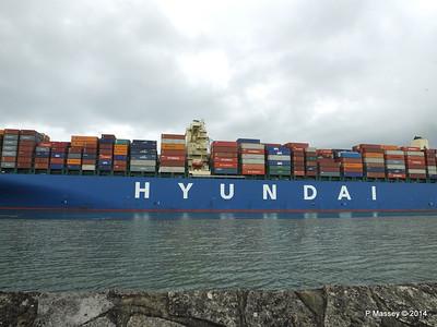 HYUNDAI TOGETHER Departing Southampton PDM 02-06-2014 16-08-21