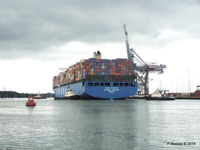 HYUNDAI TOGETHER Departing Southampton PDM 02-06-2014 16-02-01