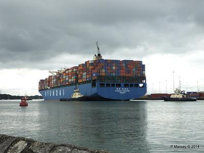 HYUNDAI TOGETHER Departing Southampton PDM 02-06-2014 16-03-04