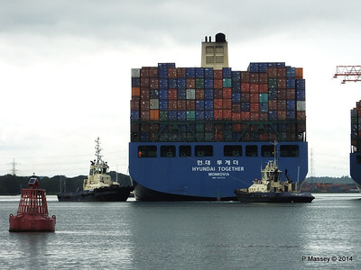 HYUNDAI TOGETHER Departing Southampton PDM 02-06-2014 15-59-58