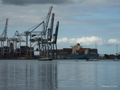 MOL CONTINUITY Departing Southampton PDM 16-07-2014 16-03-11