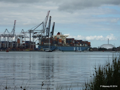 MOL CONTINUITY Departing Southampton PDM 16-07-2014 15-55-49