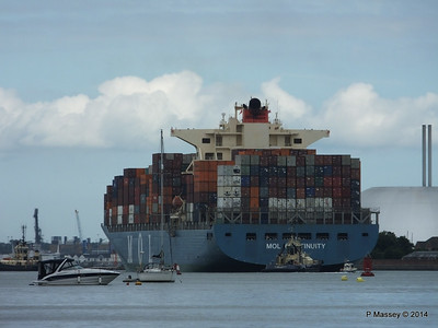 MOL CONTINUITY Departing Southampton PDM 16-07-2014 15-59-47