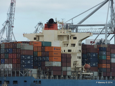 MOL CONTINUITY Departing Southampton PDM 16-07-2014 15-52-02