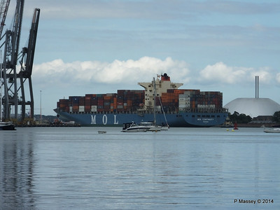 MOL CONTINUITY Departing Southampton PDM 16-07-2014 16-01-47