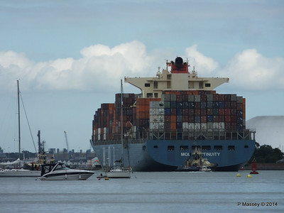 MOL CONTINUITY Departing Southampton PDM 16-07-2014 15-59-35