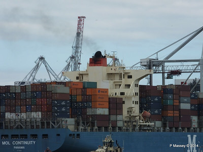 MOL CONTINUITY Departing Southampton PDM 16-07-2014 15-51-15