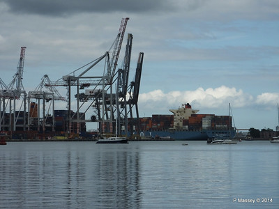 MOL CONTINUITY Departing Southampton PDM 16-07-2014 16-03-13