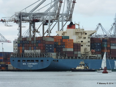 MOL CONTINUITY Departing Southampton PDM 16-07-2014 15-47-02